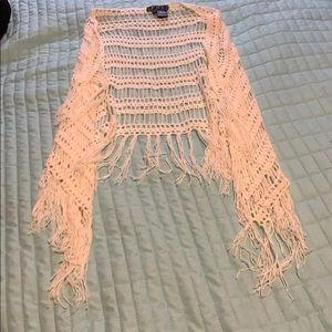 Crochet with Fringe Cover